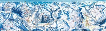 Mapa střediska - areálu - Alta Valtellina