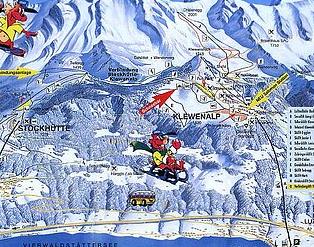 Mapa střediska - areálu - Klewenalp - Stockhütte