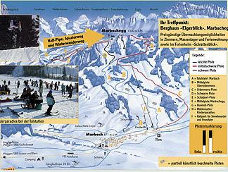 Mapa střediska - areálu - Marbach - Marbachegg