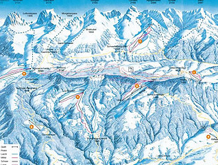 Mapa střediska - areálu - Ottenleuebad