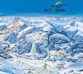 Mapa střediska - areálu - Reit im Winkl