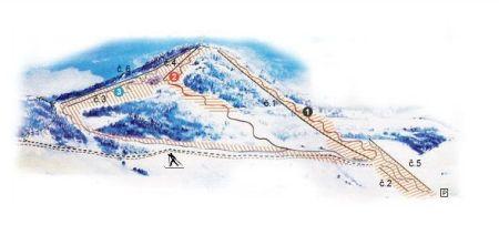 Mapa střediska - areálu - Čičmany