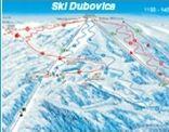 Mapa střediska - areálu - Dubovica-Žliabky