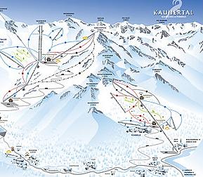 Mapa střediska - areálu - Fendels - Ried - Prutz