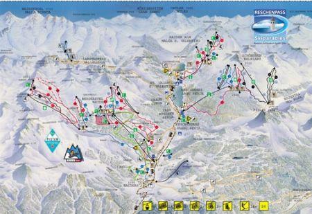 Mapa střediska - areálu - Padák - Příbram