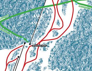 Mapa střediska - areálu - Mönichwald - Hochwechsellifte