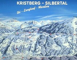 Mapa střediska - areálu - Montafoner Kristbergbahn - Silbertal