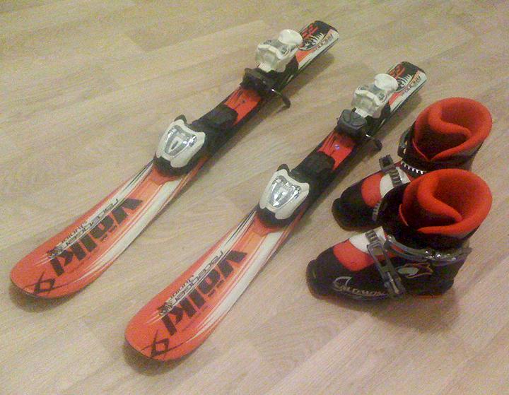 Prodám Lyže Dětské lyže 90 cm 6dfbafec410