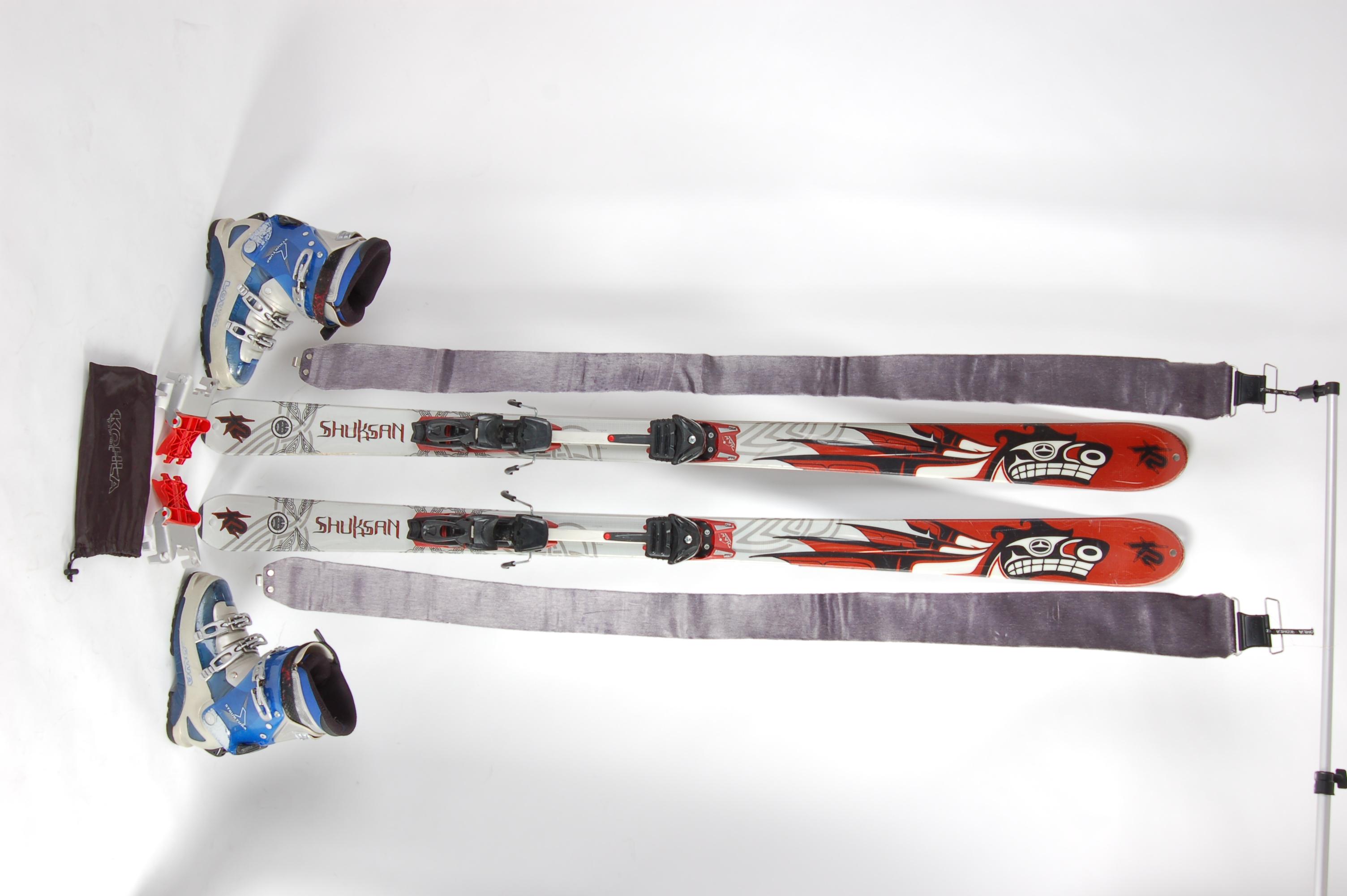 Prodám Skialpinismus SKIALP SET   lyže + vázání + brzdičky + ... 68b9f4ef782